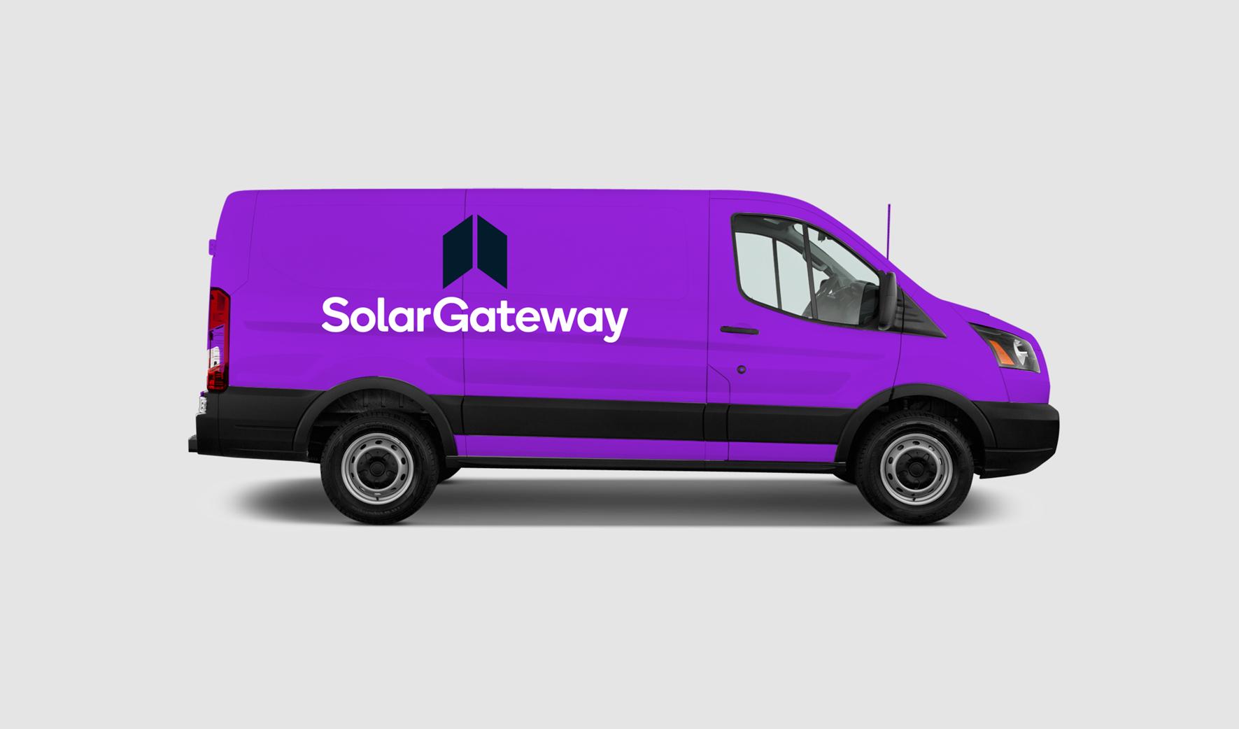 Solar Gateway Van