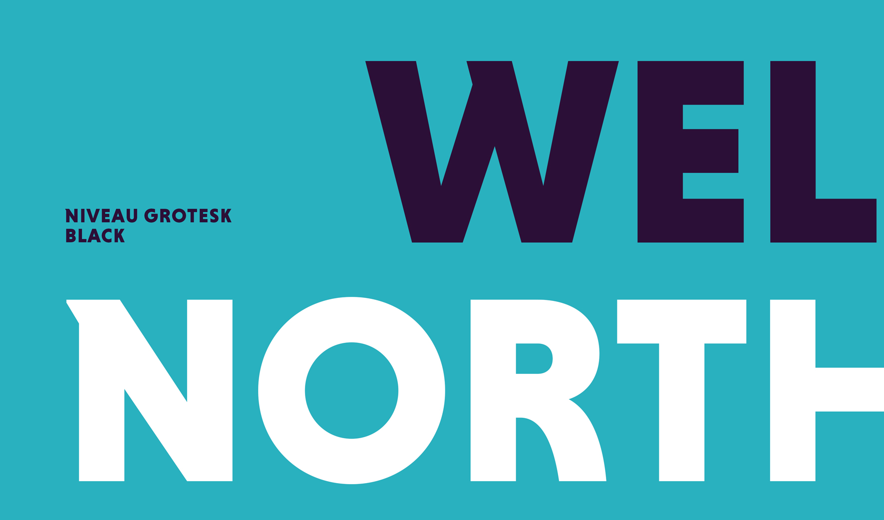 Well North Typography 2
