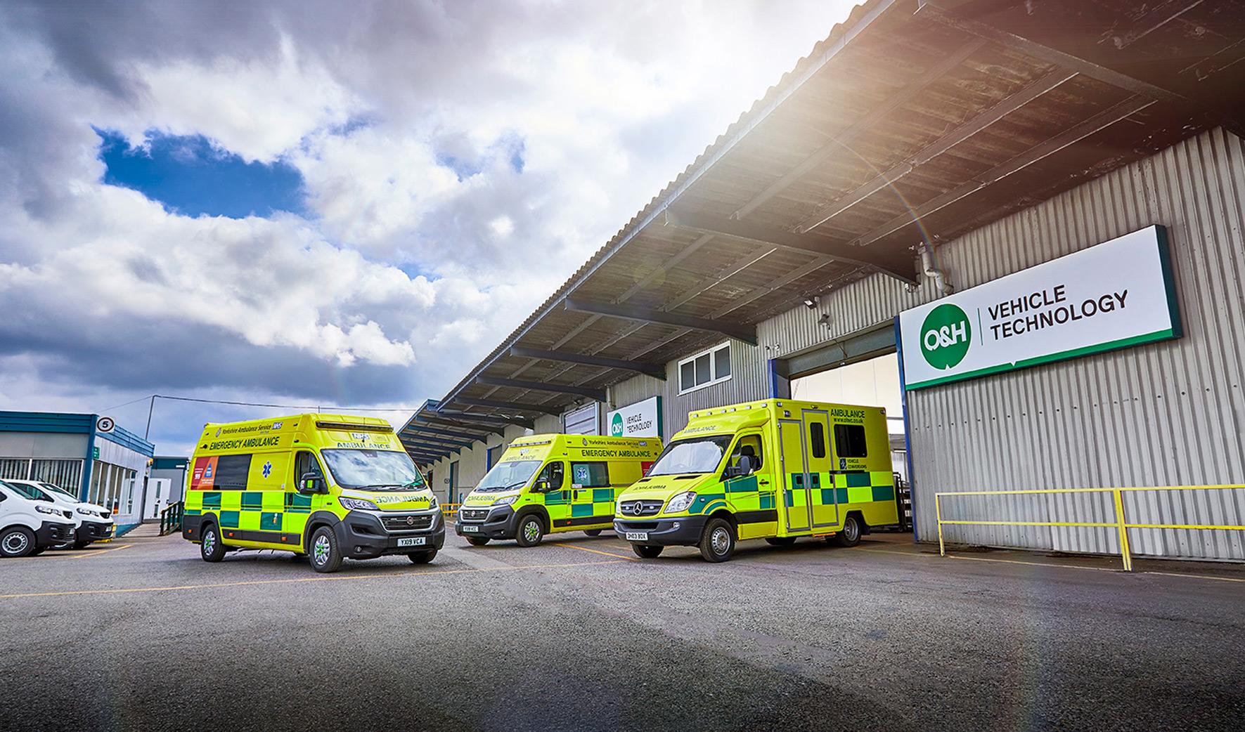 O&H Vehicle Technology Branding
