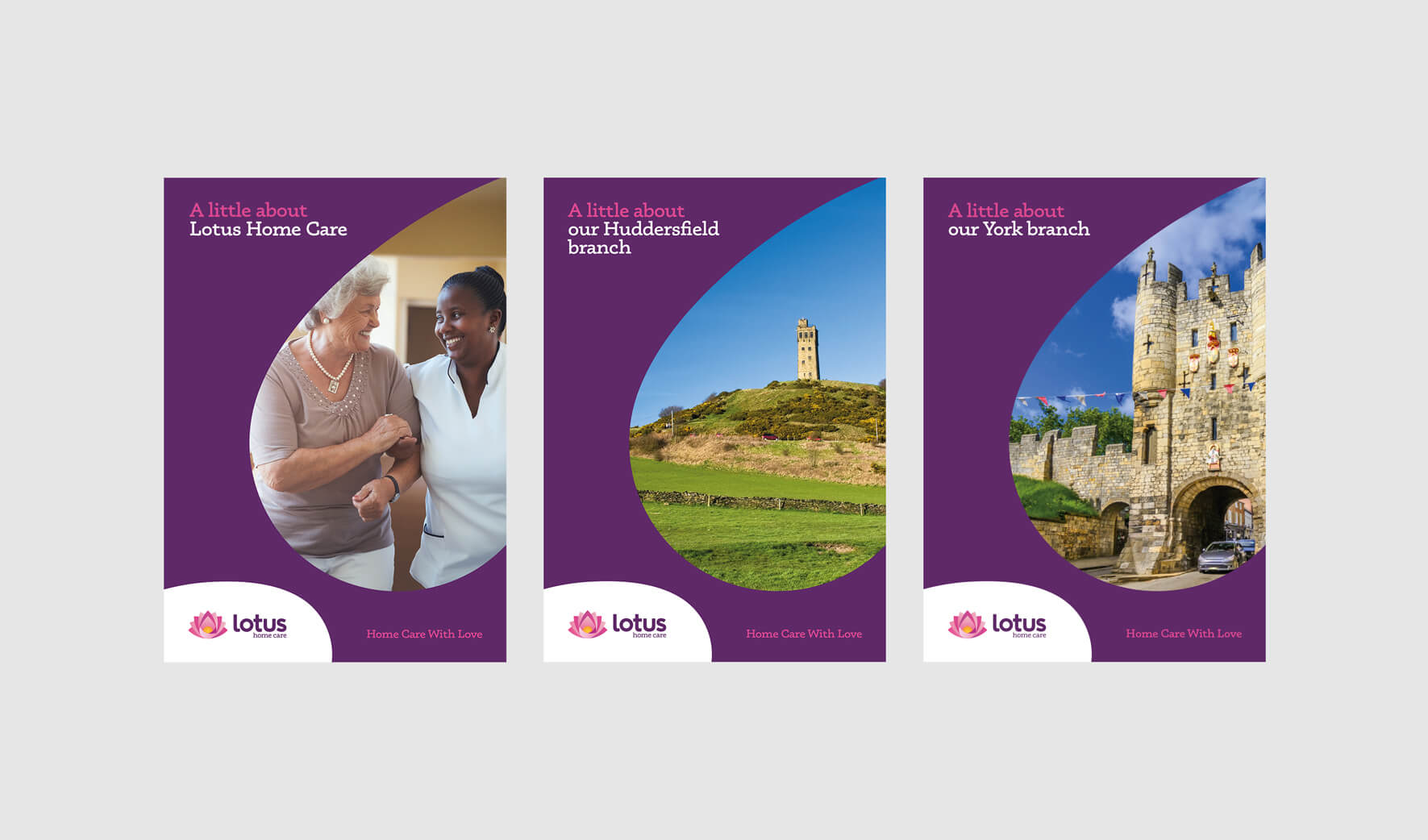 Lotus Home Care Brochures