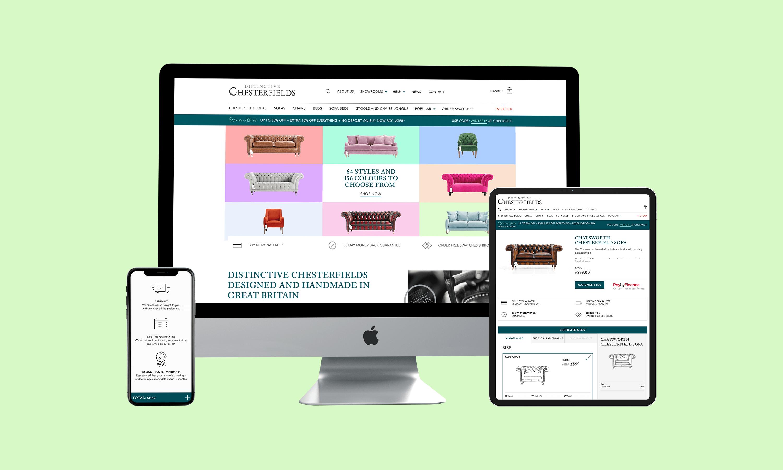 Distinctive Chesterfields Desktop, Tablet, Mobile